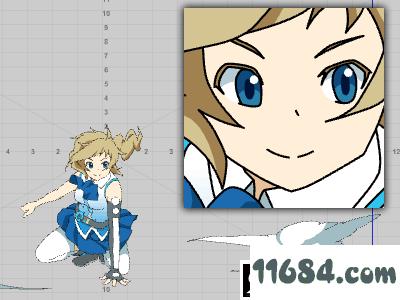 2D动画软件CACANi v2.0.58 中文激活版 - 巴士下载站www.11684.com